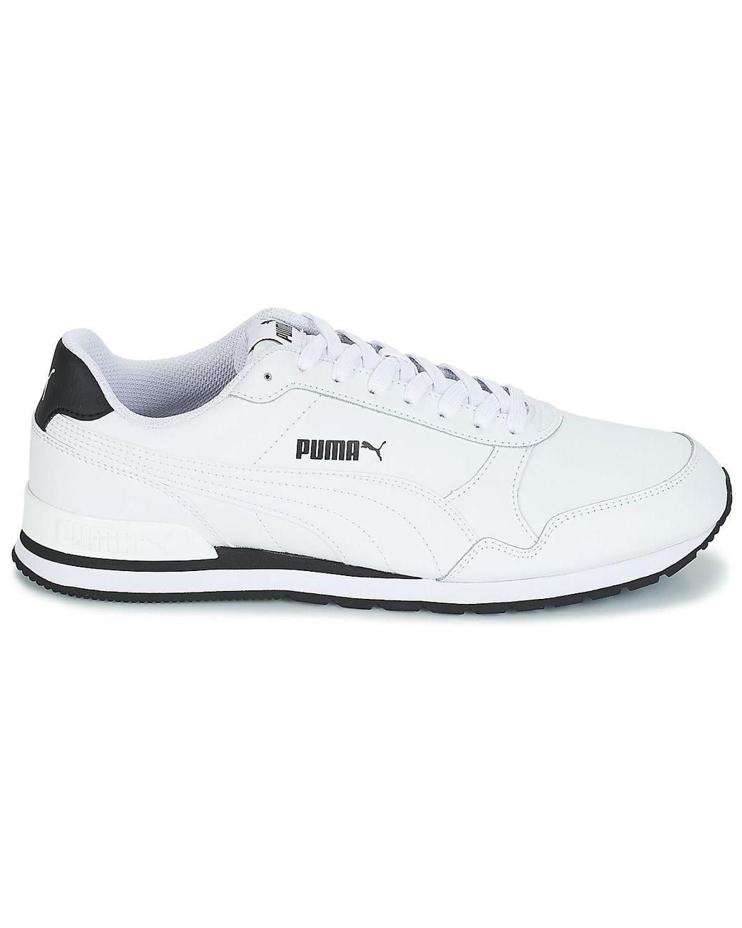 ST RUNNER V2 FUL.WHT hommes Chaussures en blanc