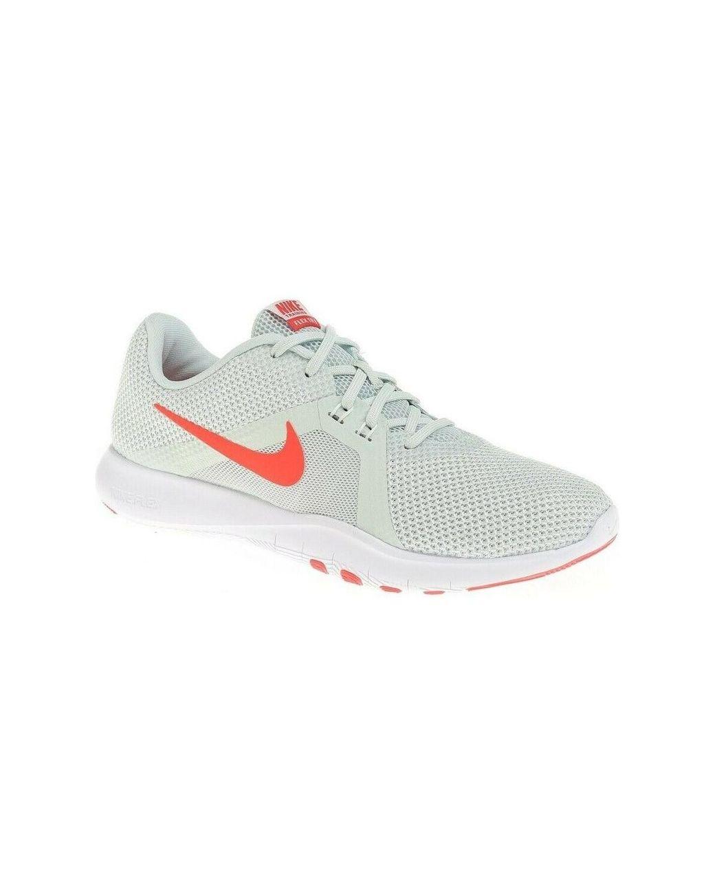 c5ceea4a3e58 Nike Flex Tr 8 924339 Women s Shoes (trainers) In Grey in Gray - Lyst
