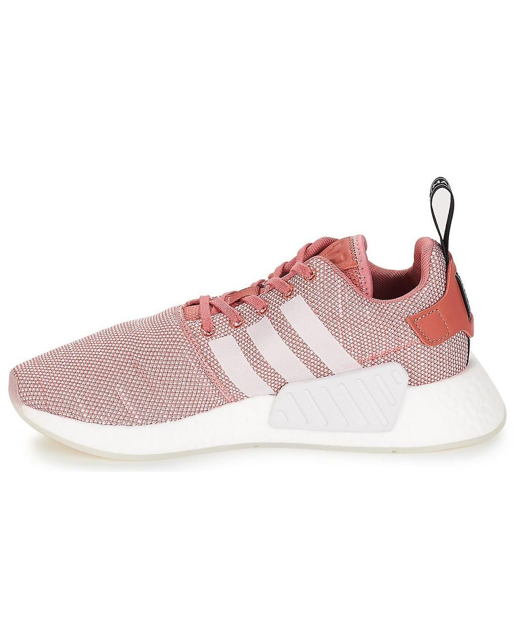 4eed677b5 adidas Nmd R2 W Women s Shoes (trainers) In Pink in Pink - Lyst
