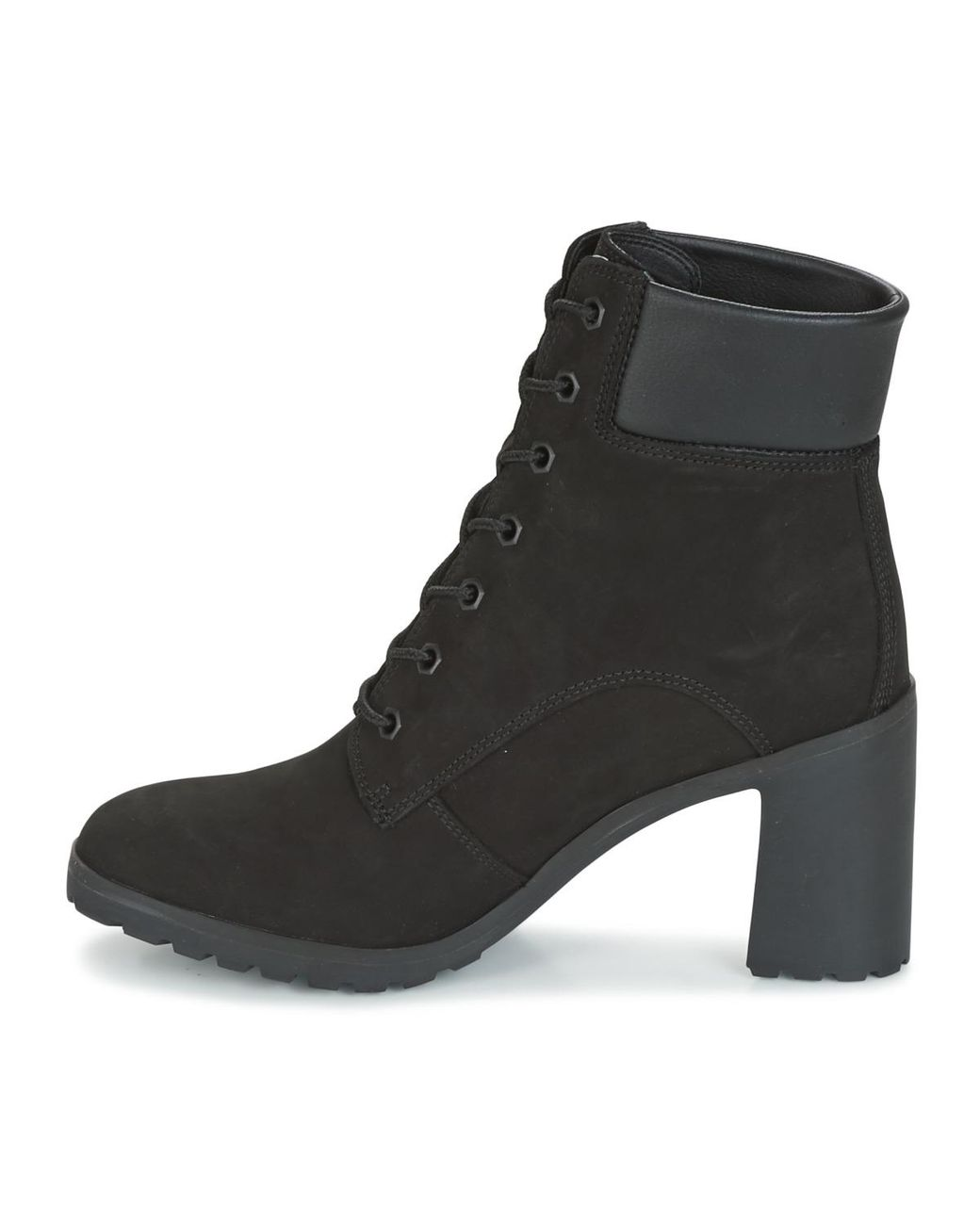 bfe62106f77 Timberland Allington 6in Lace Up Low Ankle Boots in Black - Lyst