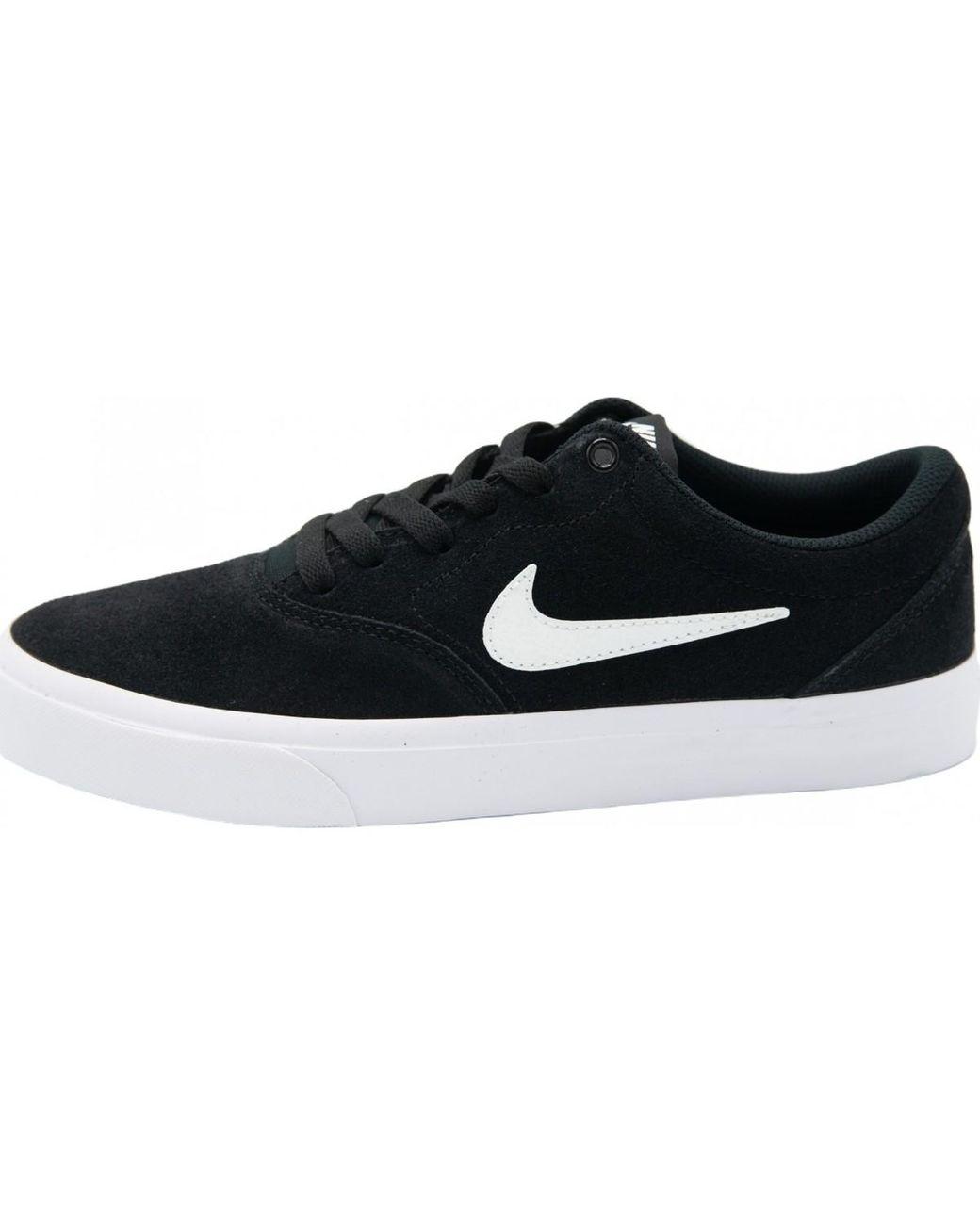 SB Charge Suede Baskets Nike pour homme en coloris Noir - Lyst