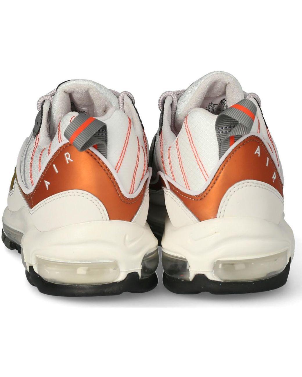Air Max 98 Se Gris Et Orange Chaussures Nike pour homme - 40 % de ...