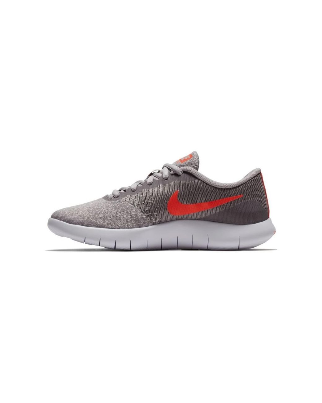 a57db90a09391 Nike Boys  Flex Contact (gs) Running Shoe 917932 006 Women s Shoes  (trainers) In Grey in Gray - Lyst