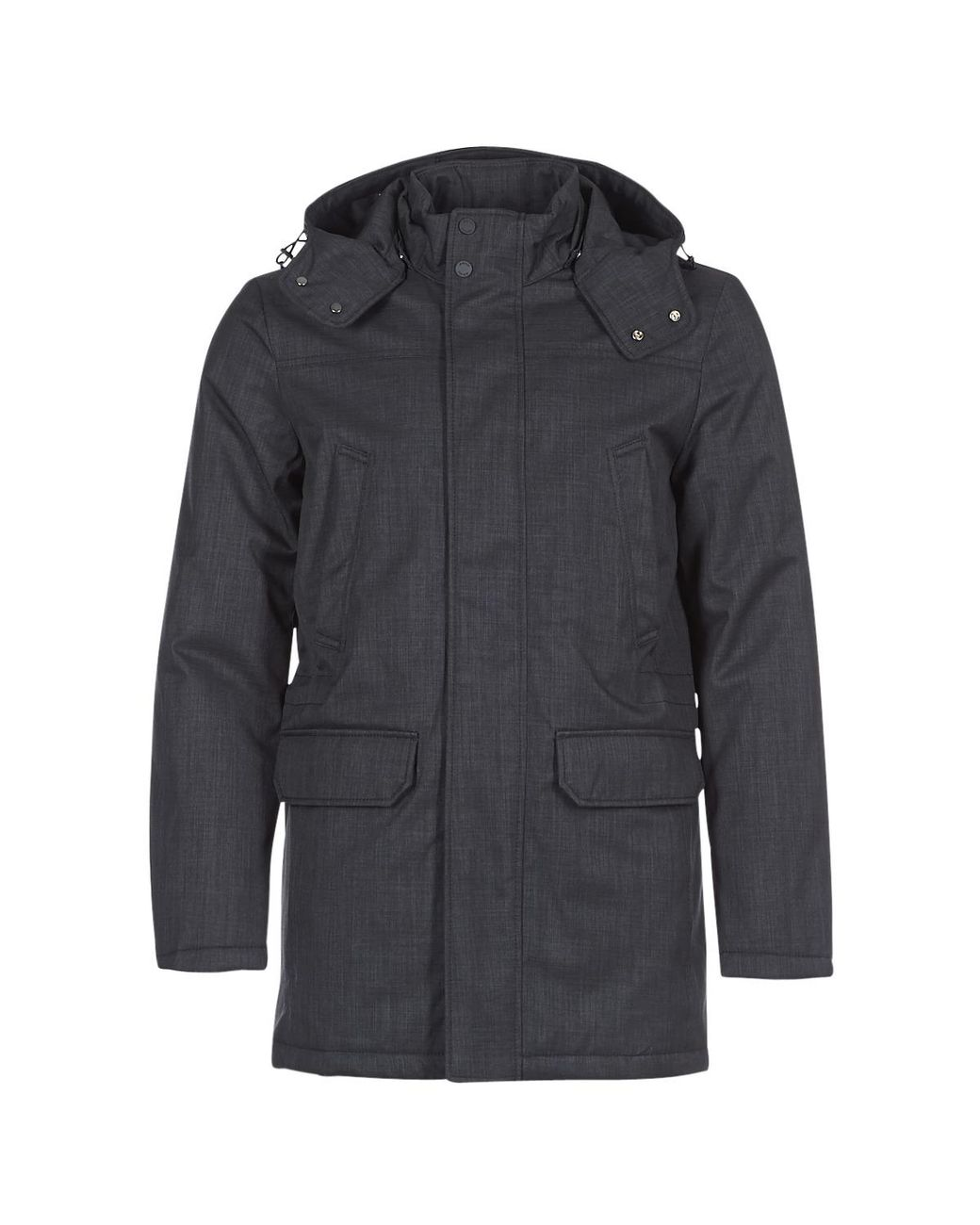 Geox Synthetic M Sandford Parka in Blue for Men Lyst