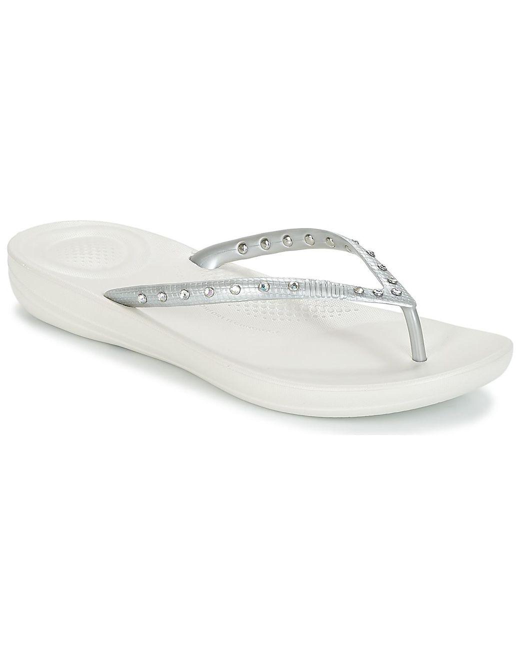 5f240f446 Fitflop Iqushion Ergonomic Flip Flops Crystal Women s Flip Flops ...