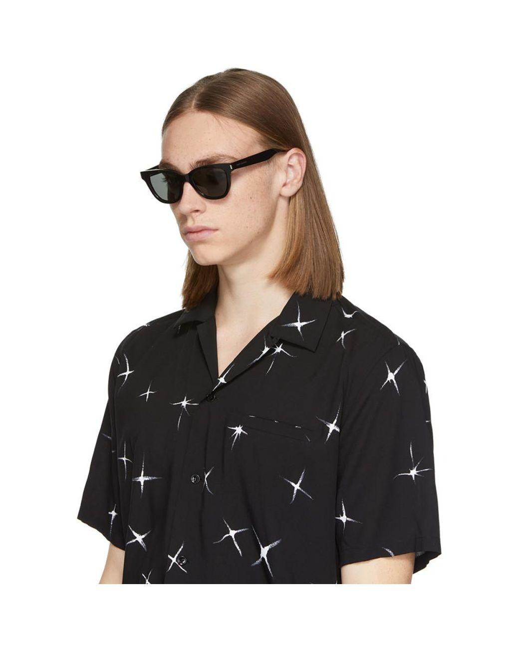 474b32d5 Men's Black Small Sl 51 Sunglasses