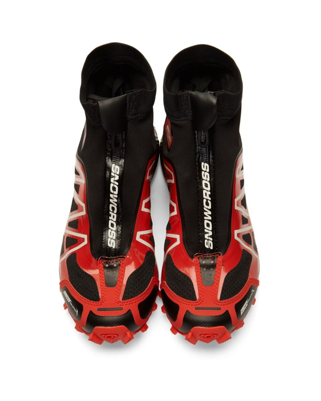 Black and Red Limited Edition Snowcross ADV LTD Sneakers