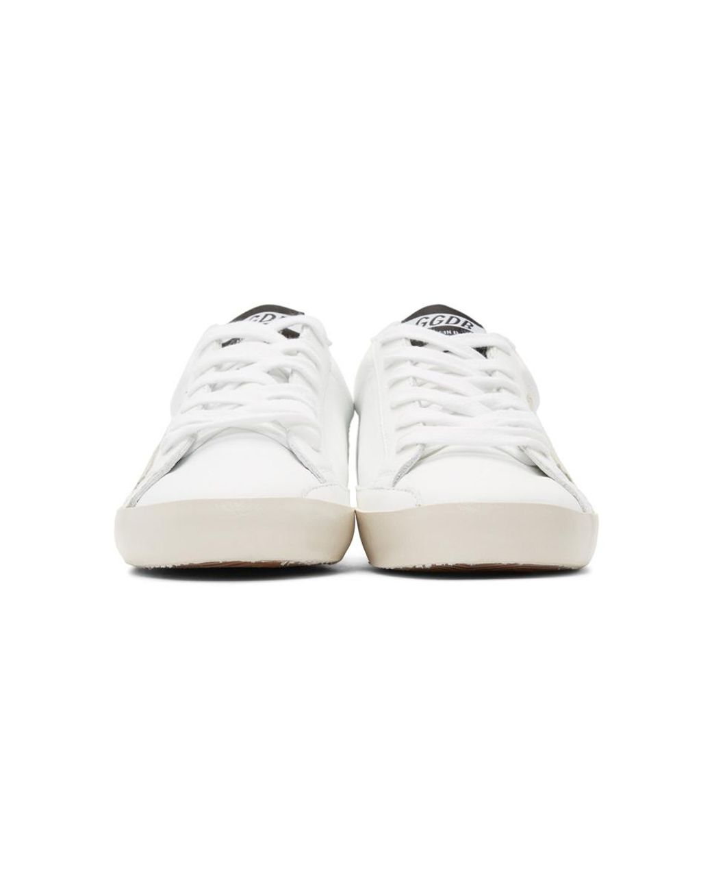 7d90dd15c8994 golden goose deluxe brand women's white and grey clean superstar ...