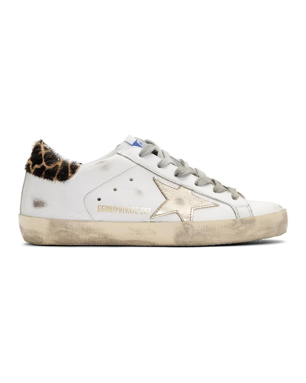 And Gold Giraffe Superstar Sneakers - Lyst