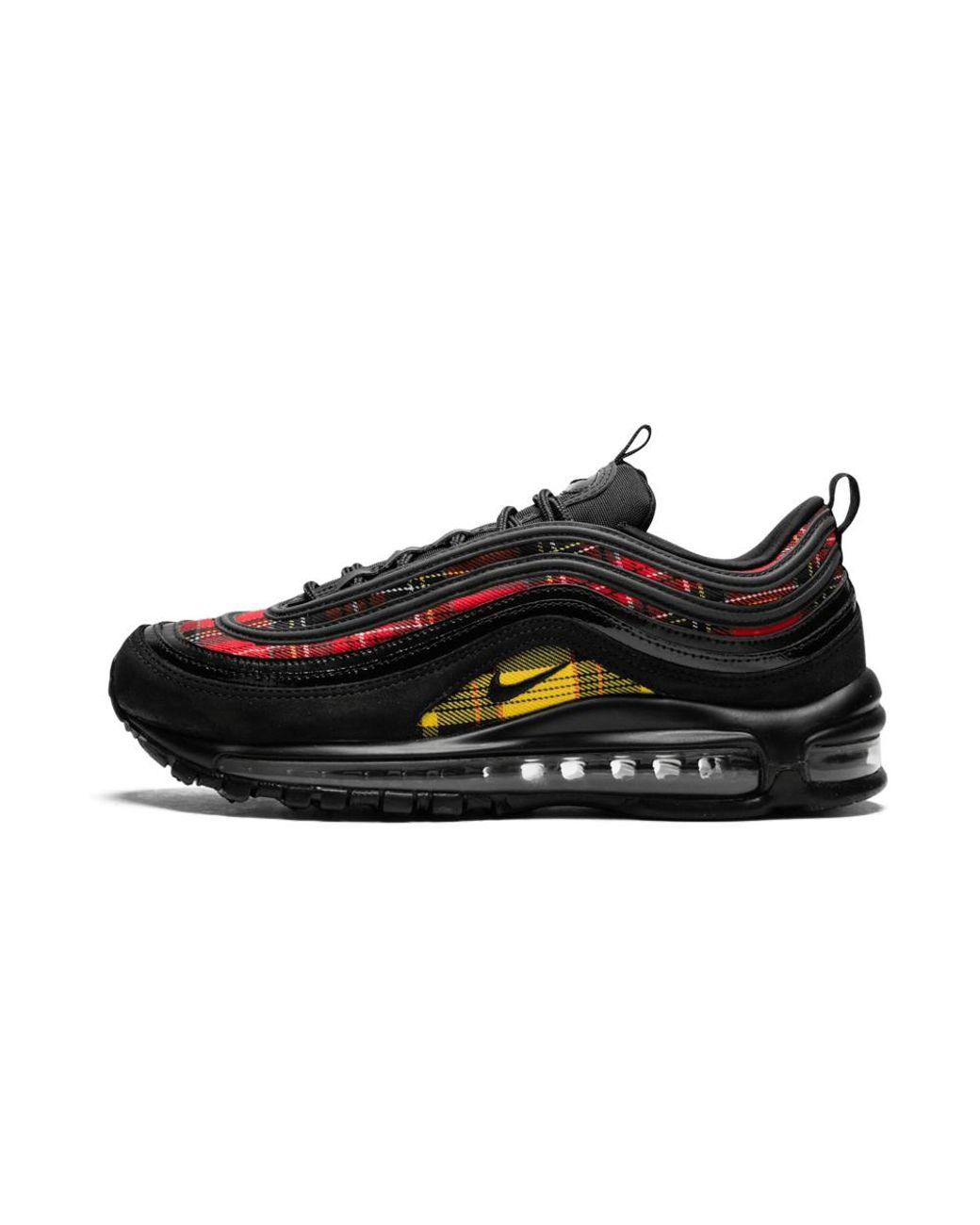 Nike W Air Max 97 Se Tartan in Black