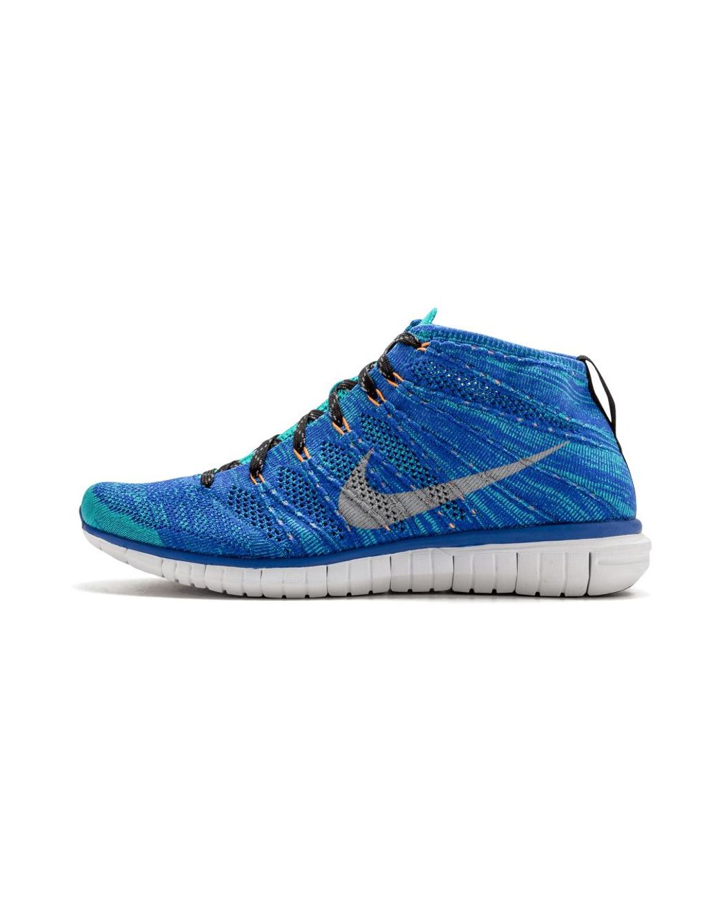 Nike Green Free Flyknit Chukka Running Shoes Size 14 for Men Lyst
