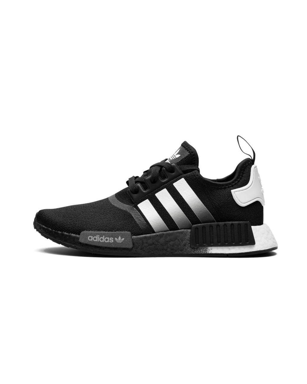 nmd adidas white and black
