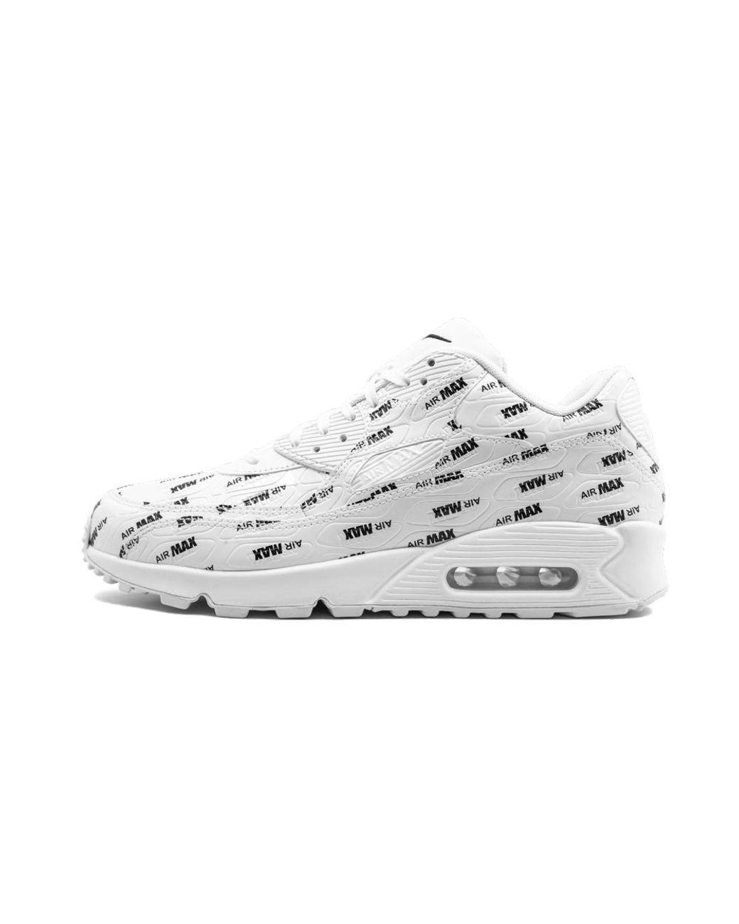 Nike Air Max 90 Premium Patent Black Women's 10