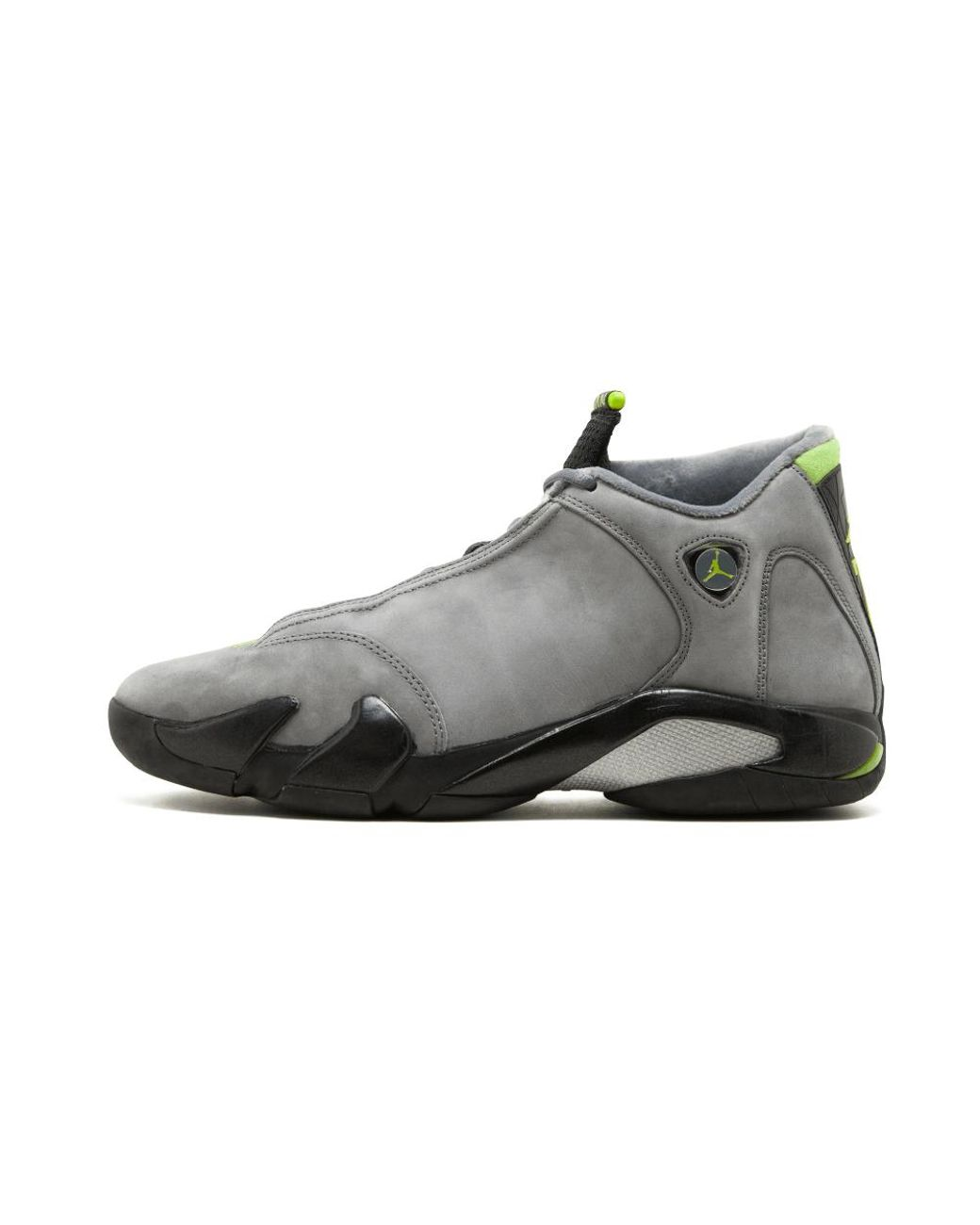 8786a0ff9db8 Long-Touch to Zoom. Nike - Gray Air 14 Retro Light Graphite chartreuse ...