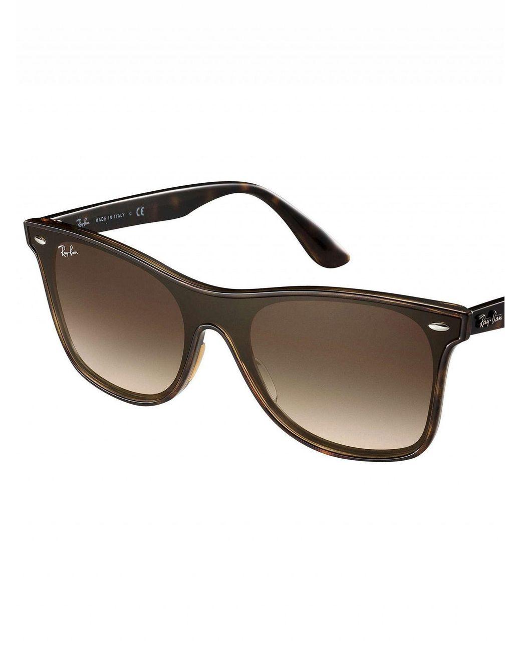 dc57e2470bb90 Ray-Ban Tortoise Rb4440n Blaze Wayfarer Sunglasses in Brown for Men - Lyst