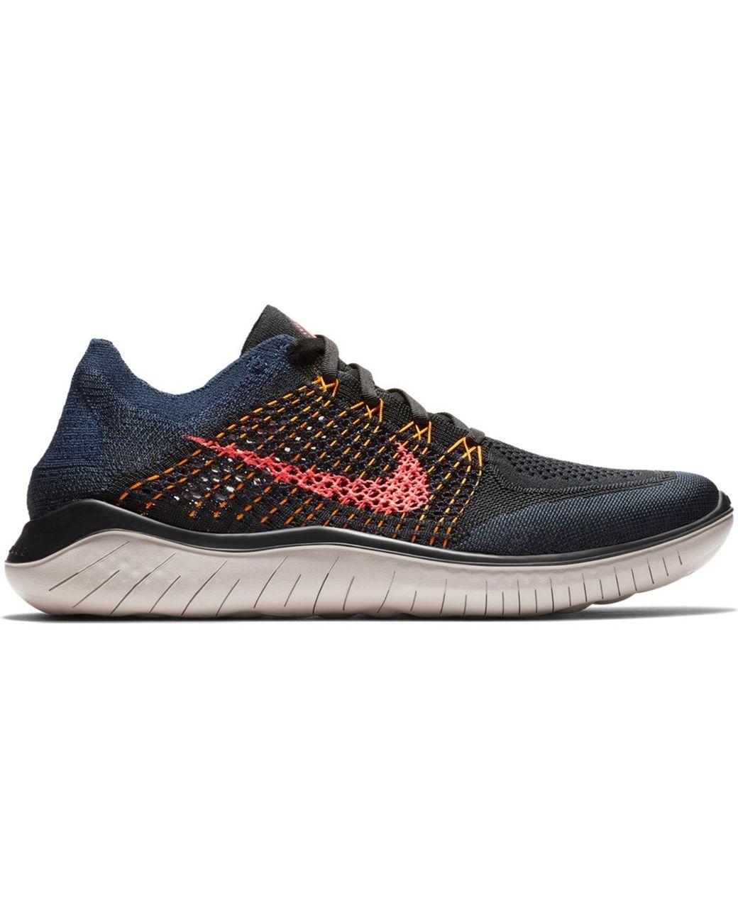 Nike Free Rn Flyknit 2018 Black Flash