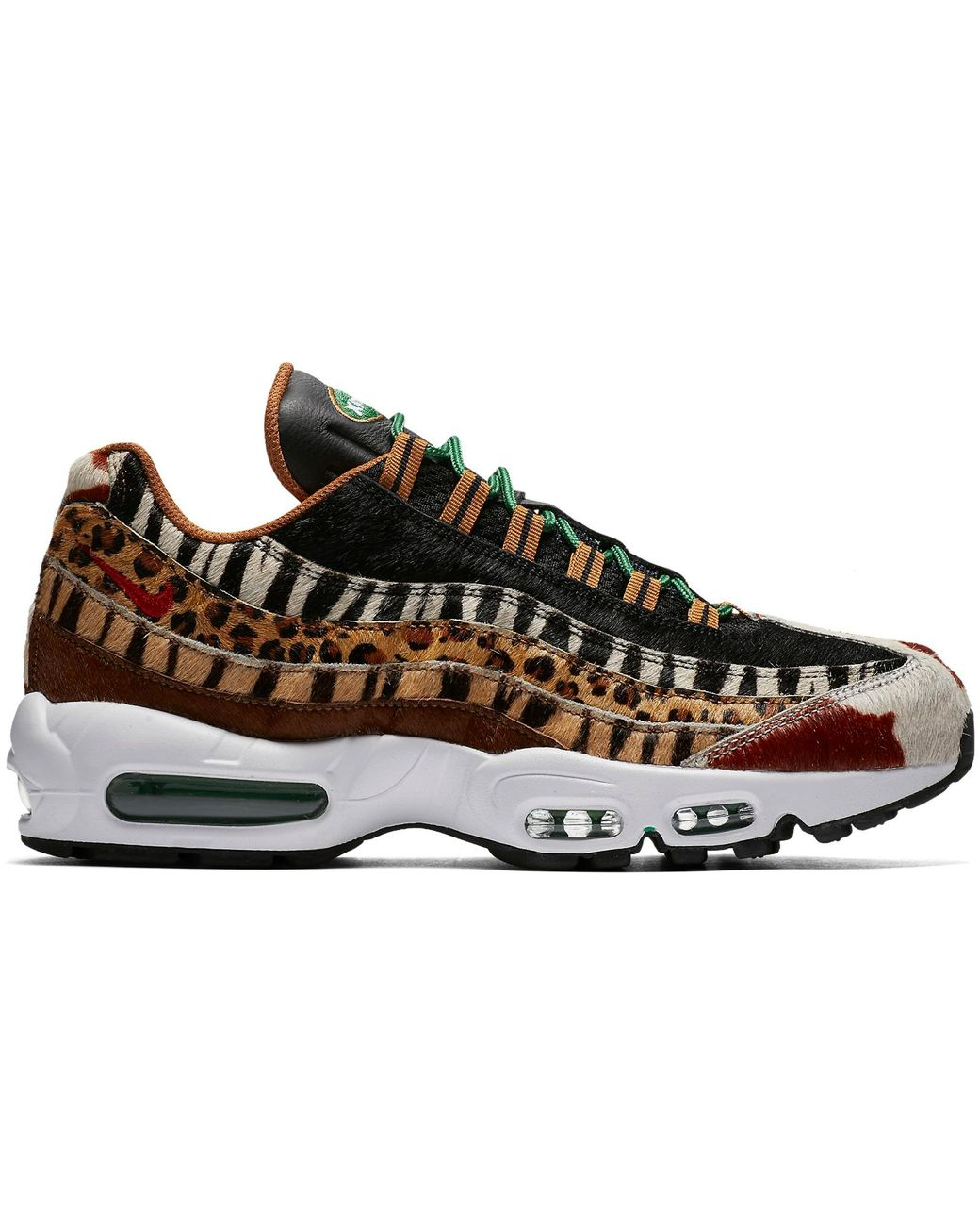 another chance c6868 8670a Men's Black Air Max 95 Atmos Animal Pack 2.0 (2018 Animal Print Box)