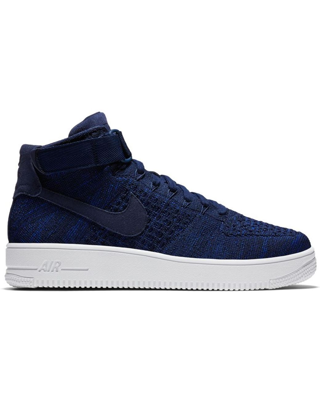 timeless design ff18e d13f7 Men's Blue Air Force 1 Ultra Flyknit Mid College Navy