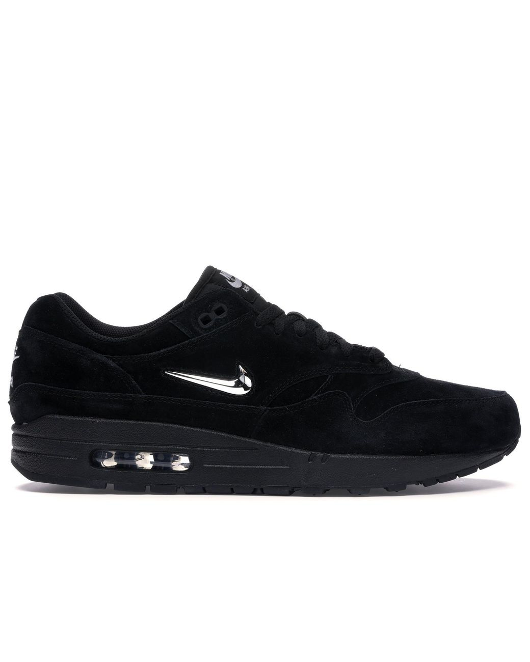 Nike Air Max 1 Jewel Black Chrome for Men Lyst