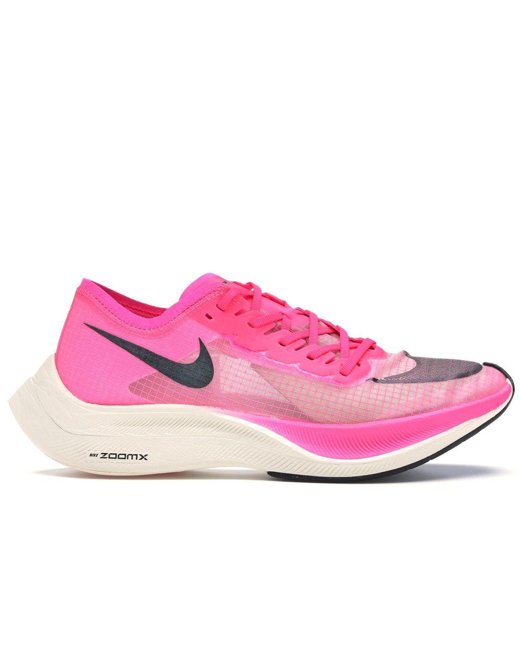Nike Zoomx Vaporfly Next% Running Shoe in Black/Pink (Pink ...