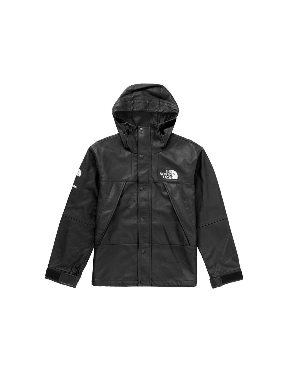 dadc68f4 Supreme The North Face Leather Mountain Parka Black in Black for Men - Lyst