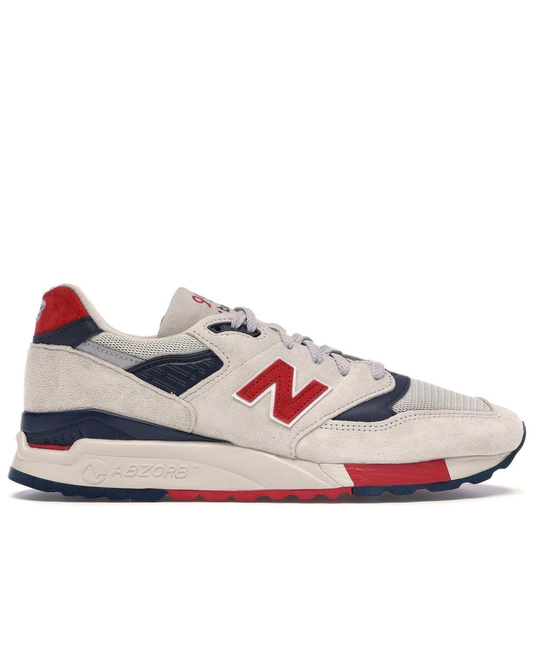 new balance 998 red white blue