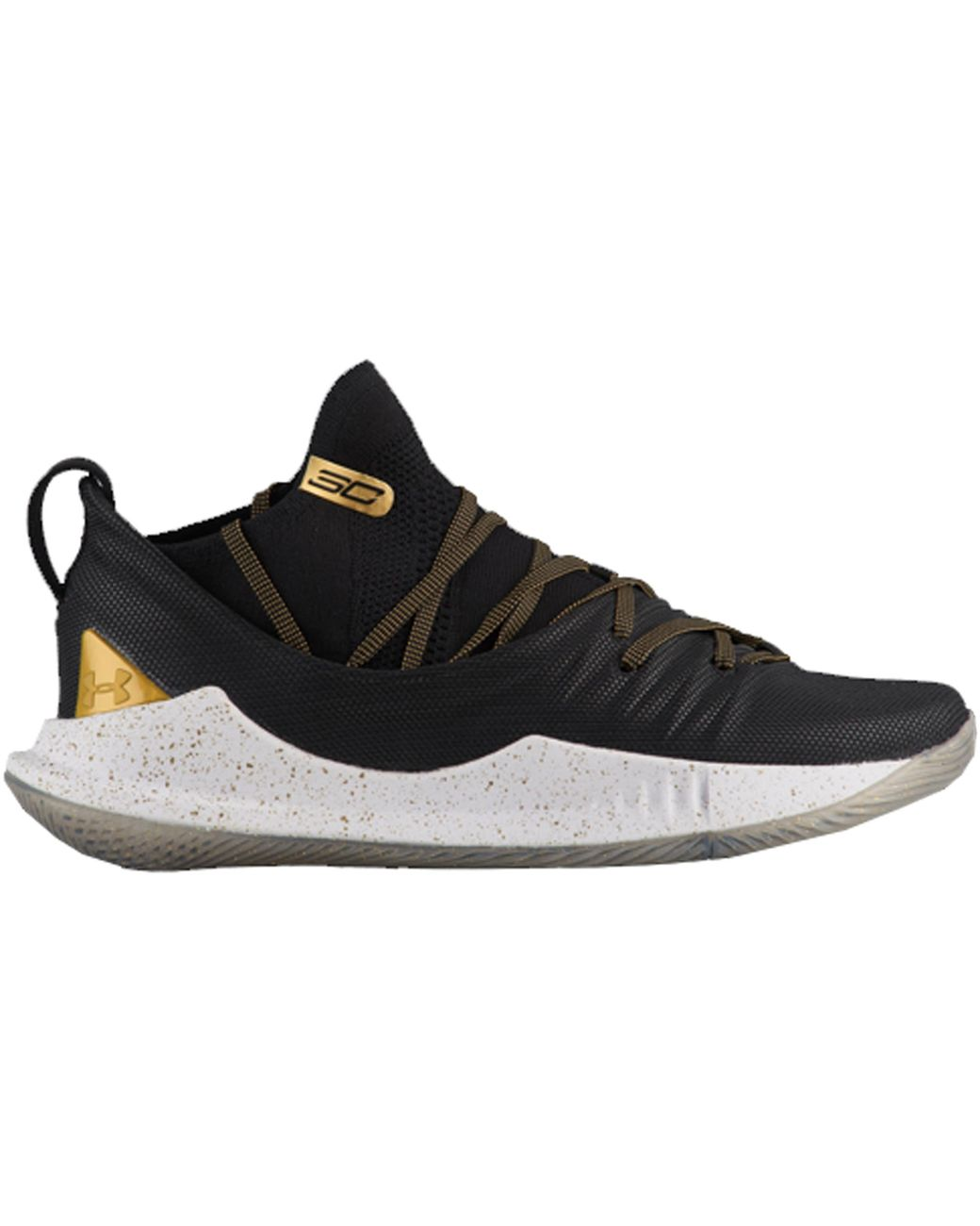 Under Armour Curry 5 Black Gold for Men