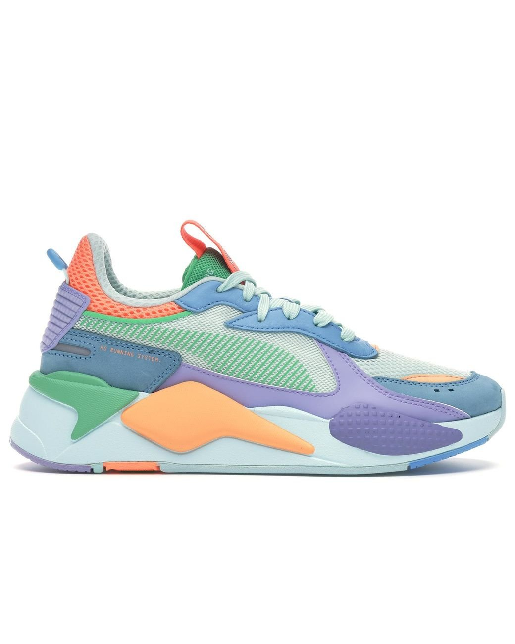 PUMA Rubber Rs-x Toys in Green/Blue
