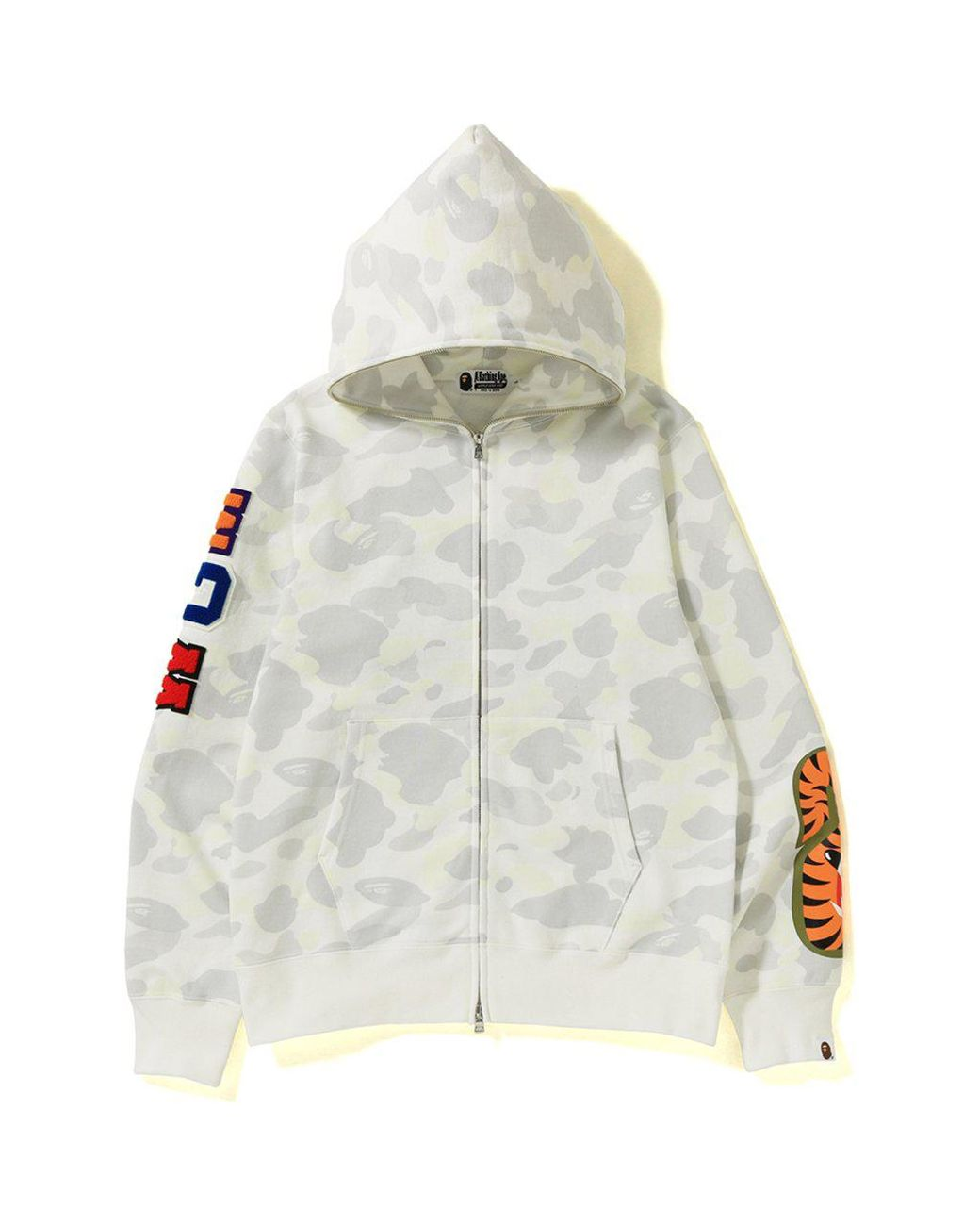 53e5a5d14464 Long-Touch to Zoom. A Bathing Ape - City Camo Embroidery Shark Full Zip  Hoodie ...