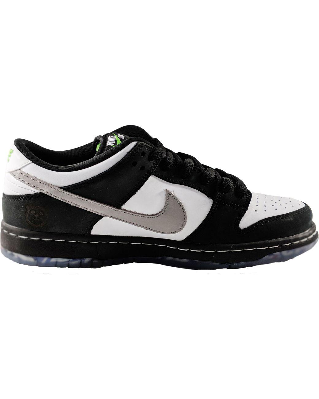 separation shoes 99d00 54e7b Men's Black Sb Dunk Low Panda Pigeon (engraved)