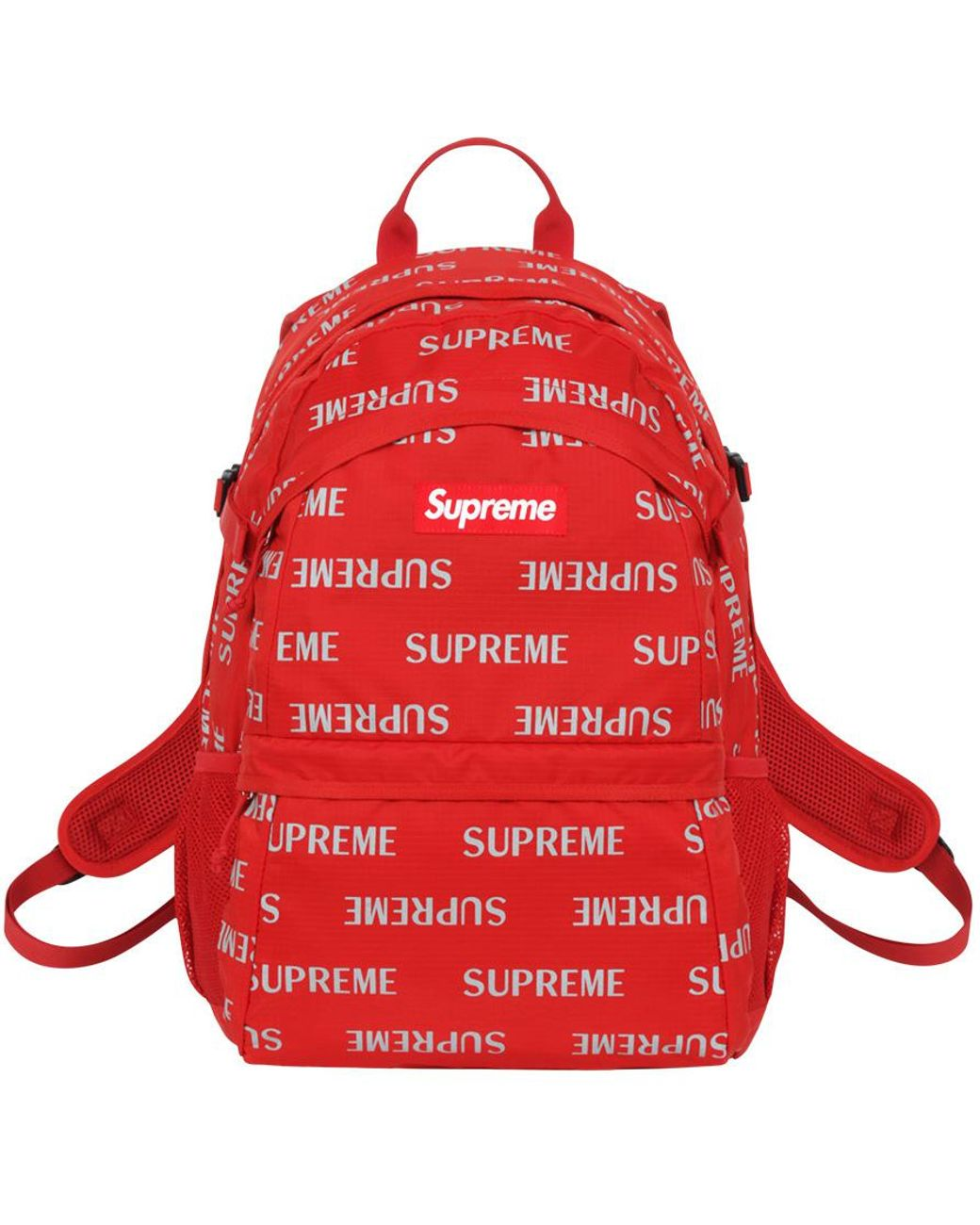 0ef426c1 Supreme 3m Reflective Repeat Backpack Red in Red - Lyst