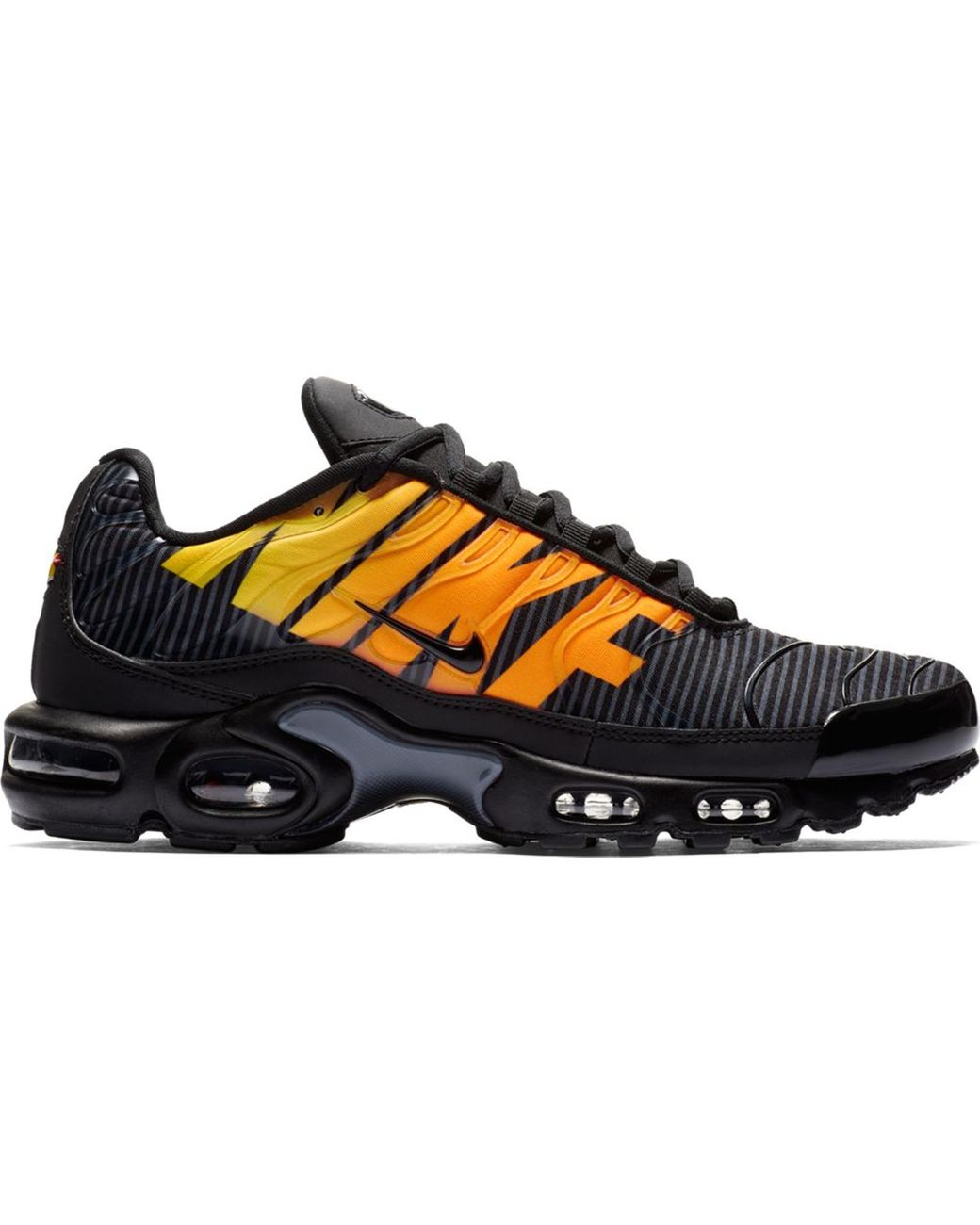 check out 88ee1 224b5 Men's Air Max Plus Mercurial Black Orange