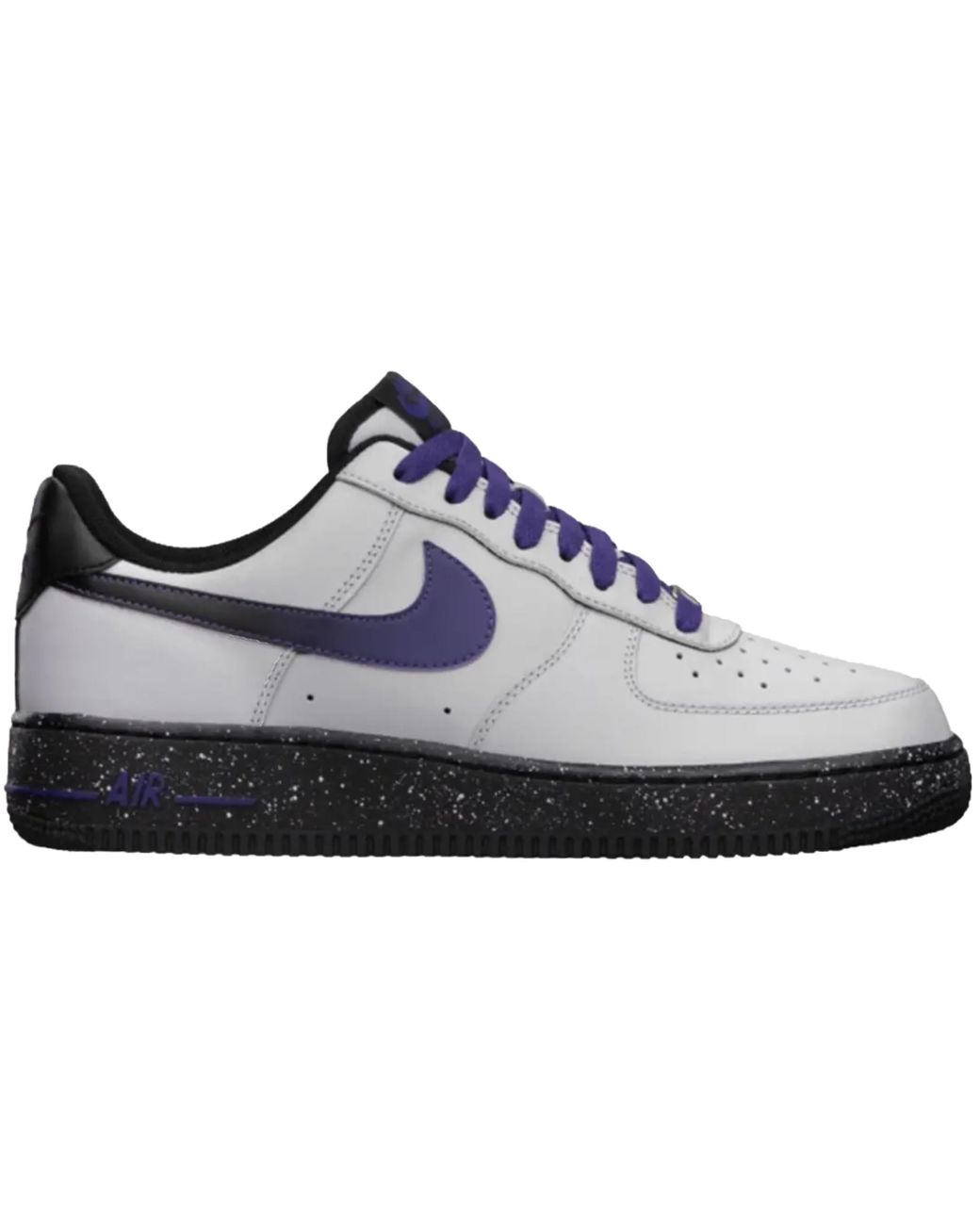 low priced 740be 02a7c Men's Air Force 1 Low Wolf Gray Court Purple