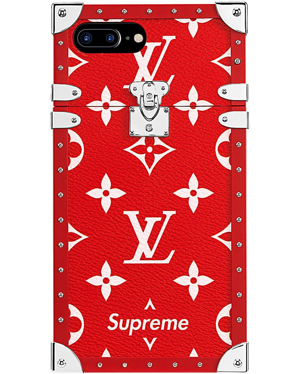 save off 44fcf a634f Women's Louis Vuitton X Iphone 7 Plus Eye Trunk Red