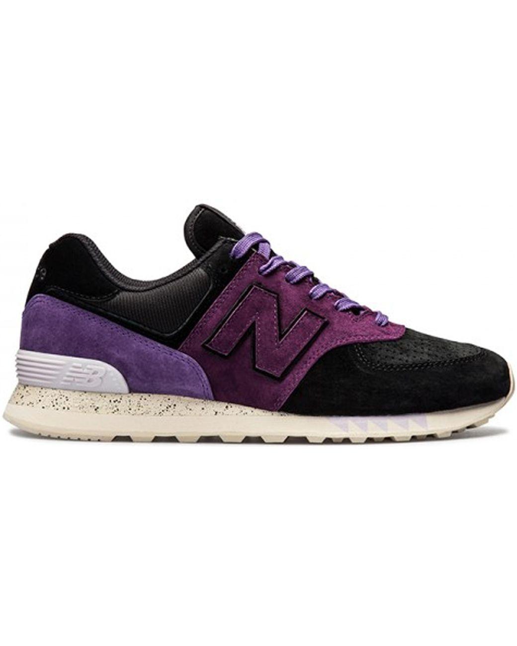 innovative design b72c0 0865c Men's Purple 574 Sneaker Freaker Tassie Devil