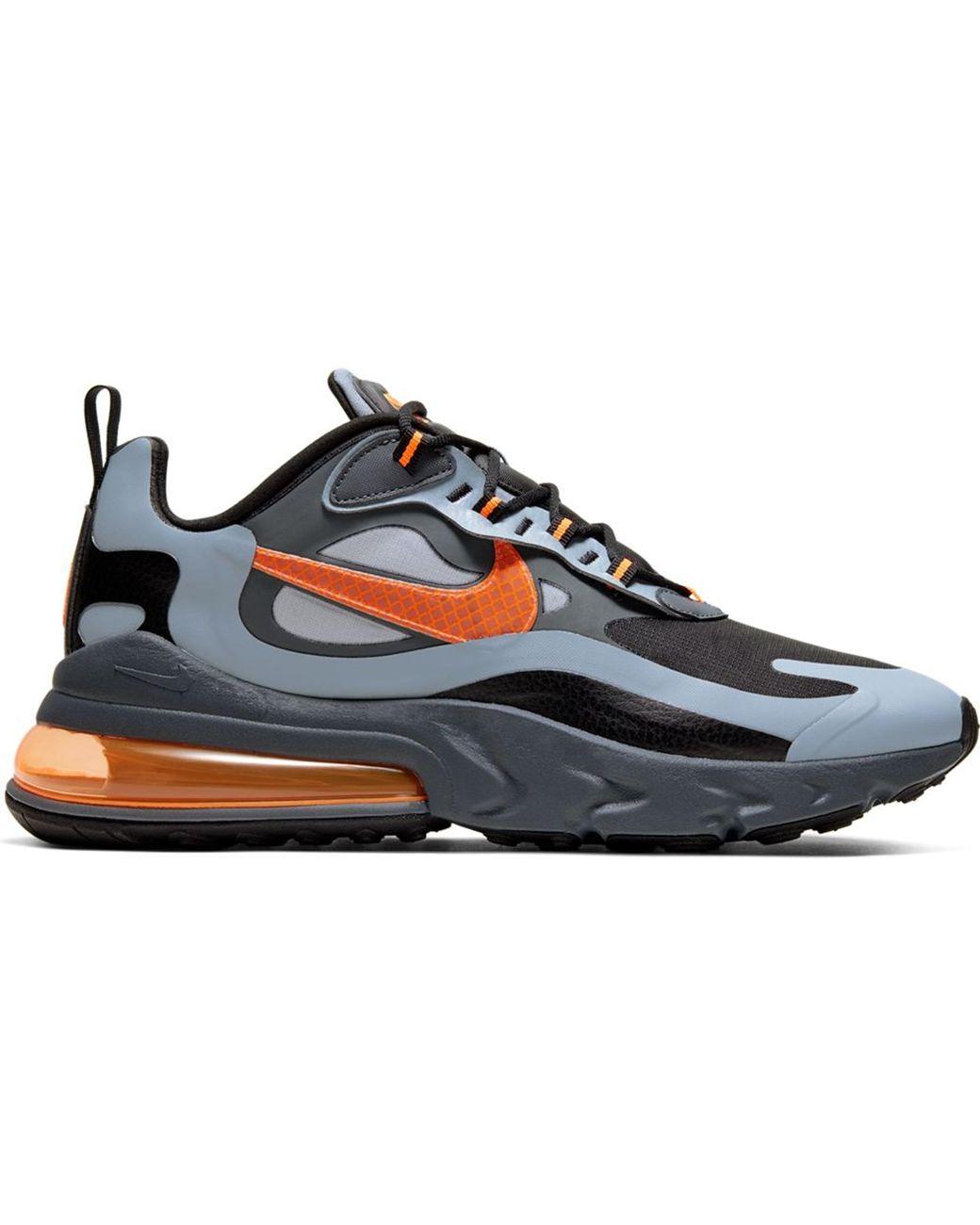 New Sz 11.5 Nike Men AIR MAX 270 FUTURA White Total Orange