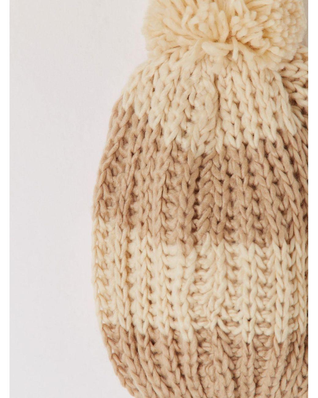 Da donna con pompon ITALIANO lavorato a maglia a maniche lunghe con cintura Boyfriend Knit Cardigan