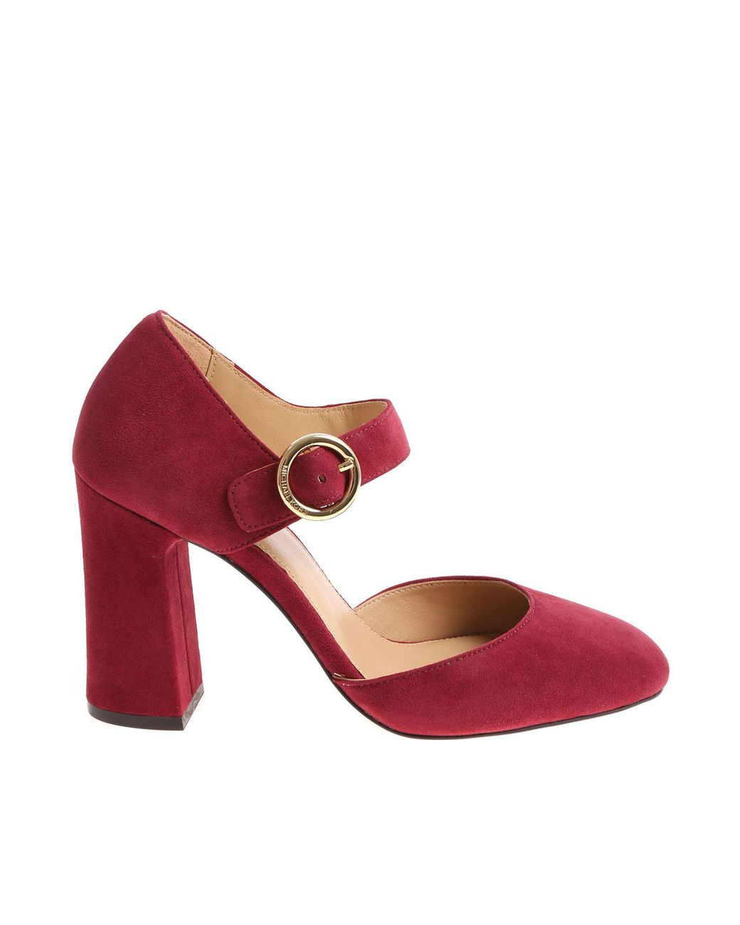 47e585990bfe4 Michael Kors Burgundy Alana Pumps in Red - Lyst
