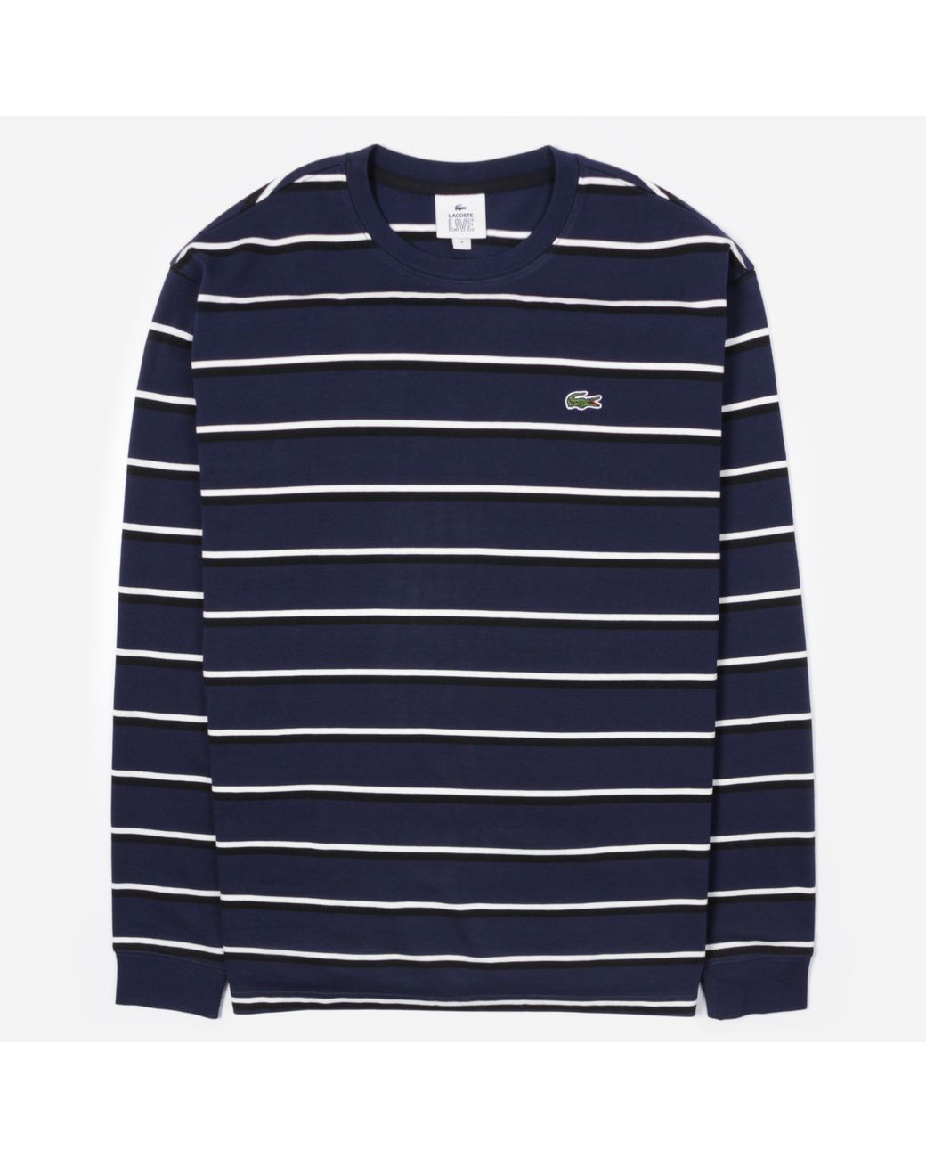 Lacoste Navy Blue Long Sleeved T-Shirt