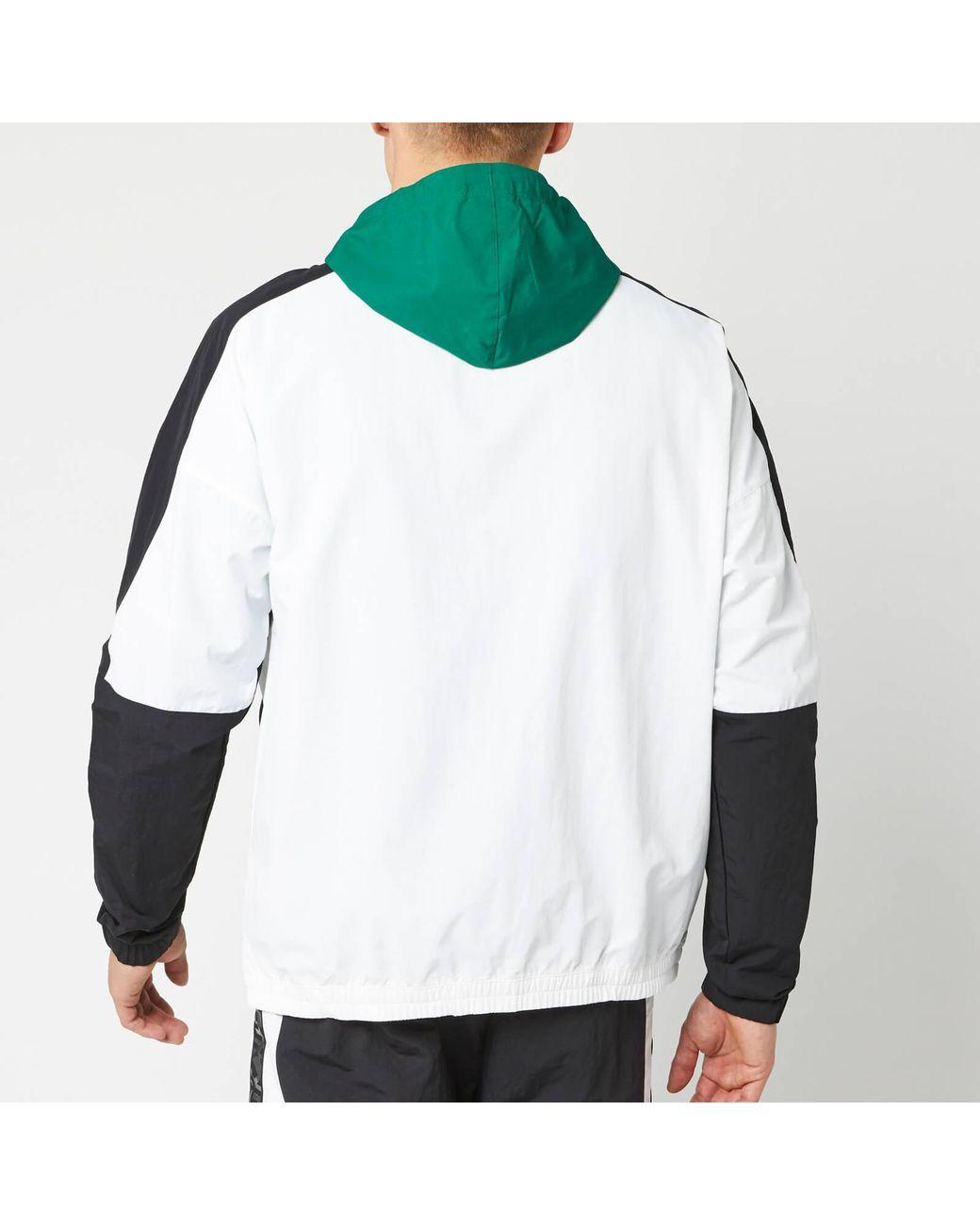 Woven Men Green In For Reebok Myt Jacket Lyst UjLSMVqpzG