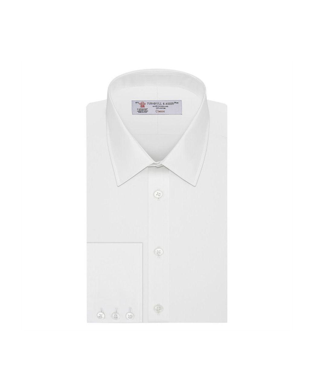 eacac8e388c Men's White Classic Collar Cotton Shirt