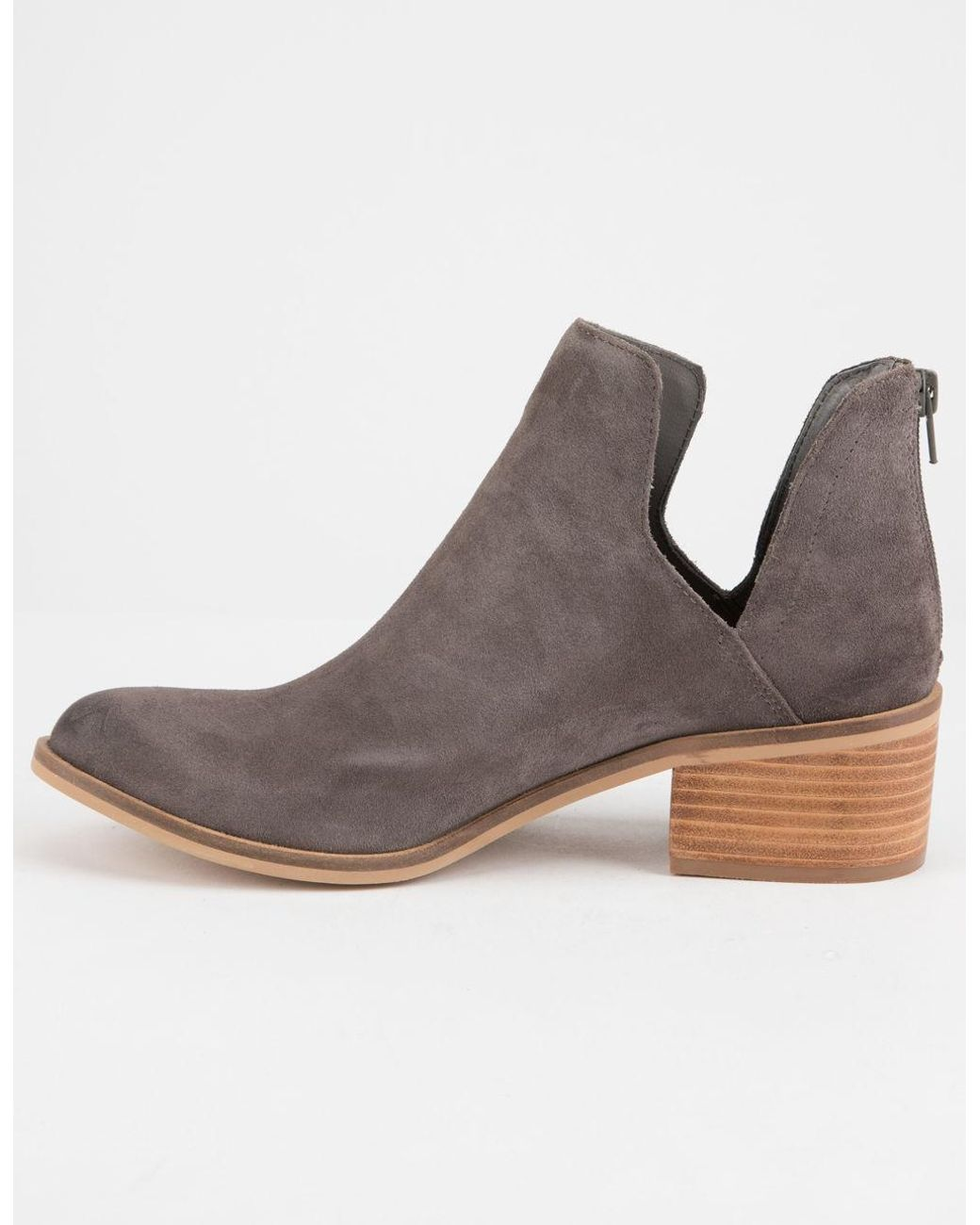 187cdcae406 Gray Lancaster Womens Booties