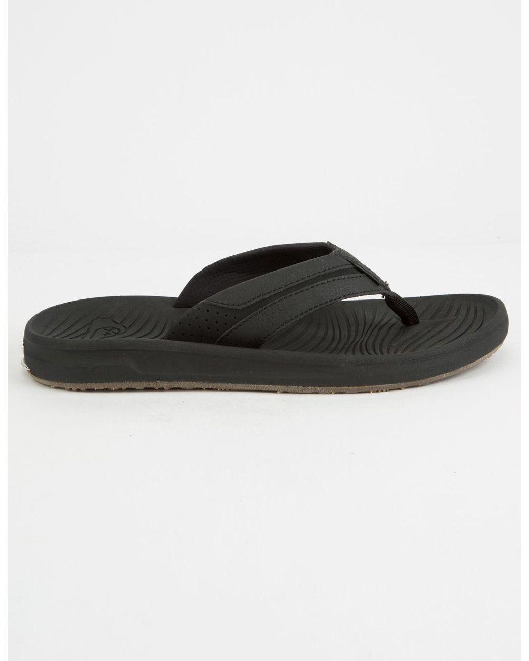 8325a5d51d79 Lyst - Quiksilver Travel Oasis Mens Sandals in Black for Men