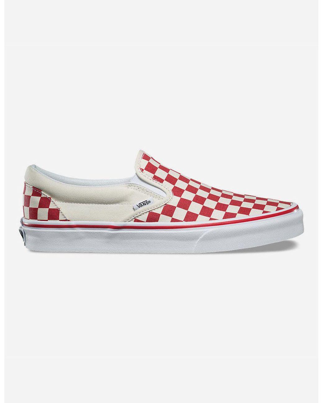White Women's Slip Shoes Check Primary On Redamp; J3T1uKlc5F