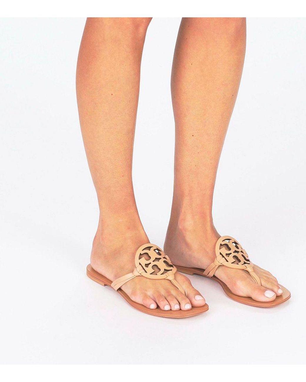 7e76a08a1 Lyst - Tory Burch Miller Square-toe Sandals