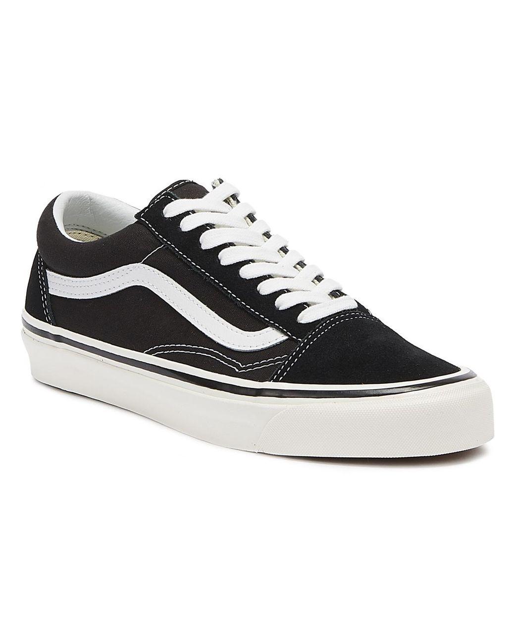 d404fe6236868 Men's Anaheim Factory Old Skool 36 Dx Black / True White Sneakers