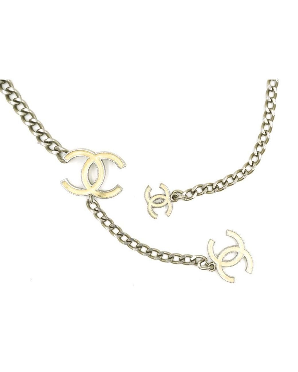 18 LavaFashion Sterling Silver Yellow Enameled Awareness Silver Charm Necklace