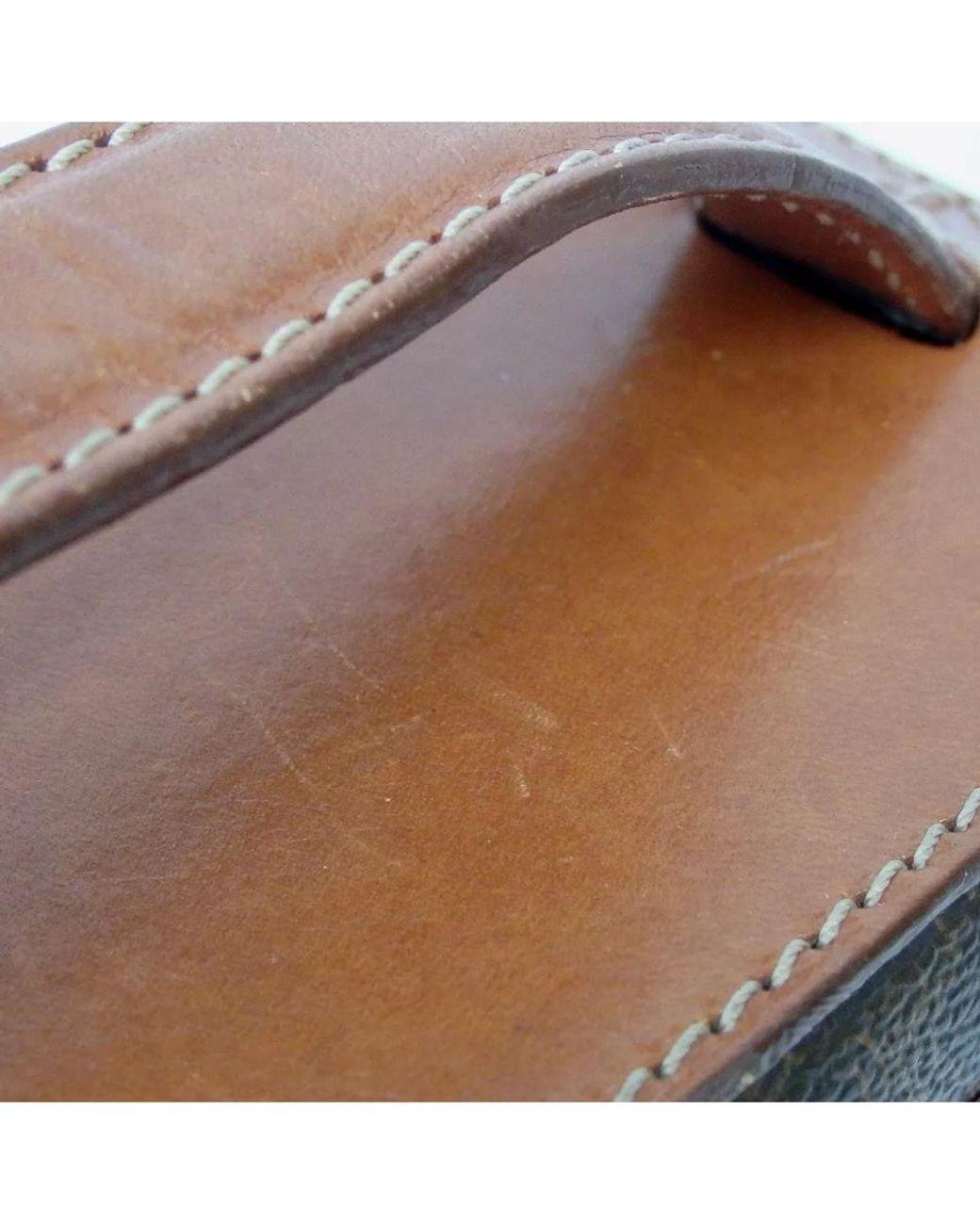 "ETRO Italy Keychain KEY Fob Ring Burgundy Leather Hand Bag Charm 5x3/"" Pouch NEW"