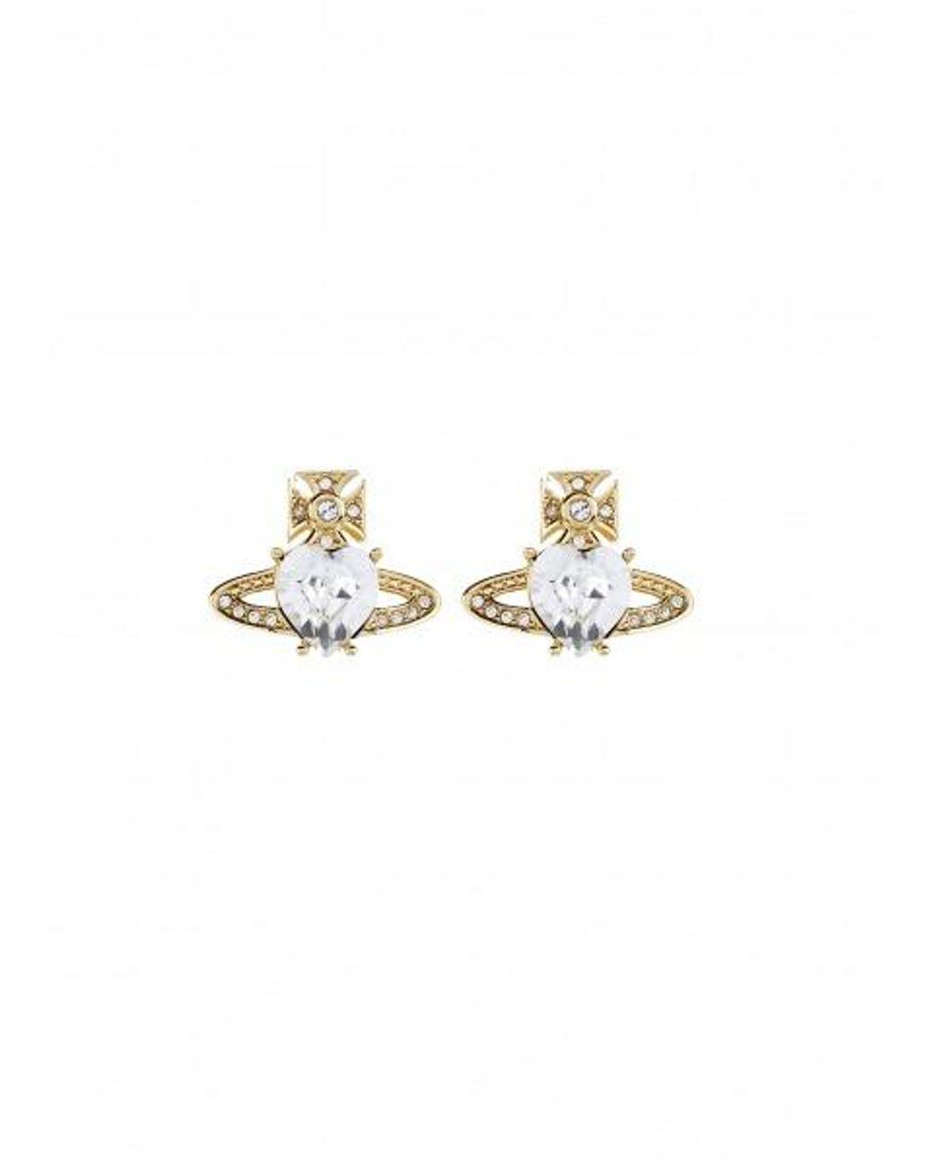 871ac4ef0 Vivienne Westwood Ariella Earrings in Metallic - Lyst