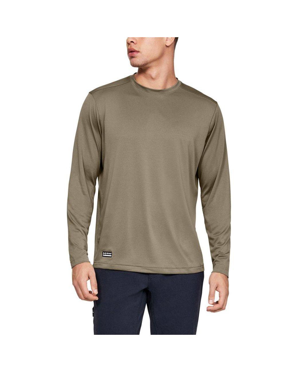 Blue Men's Ua Techtm Tactical Long Sleeve T-shirt